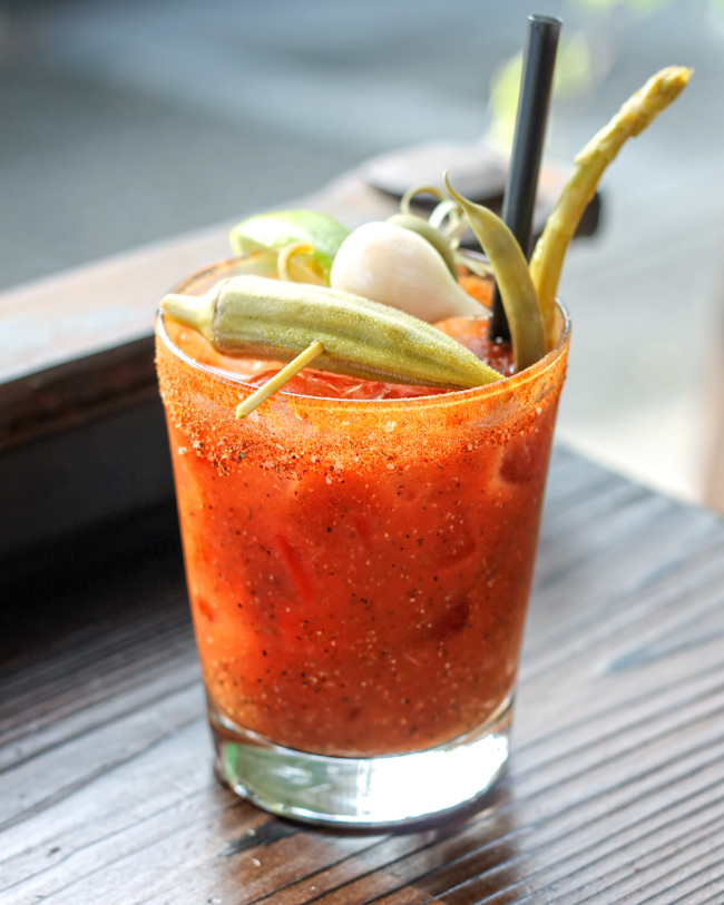 Stumbling Goat Bloody Mary Seattle