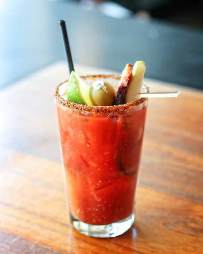 Ballard Annex Oyster House Seattle Bloody Mary