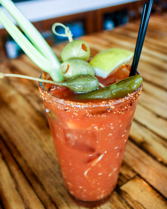 The Little Door Los Angeles Bloody Mary