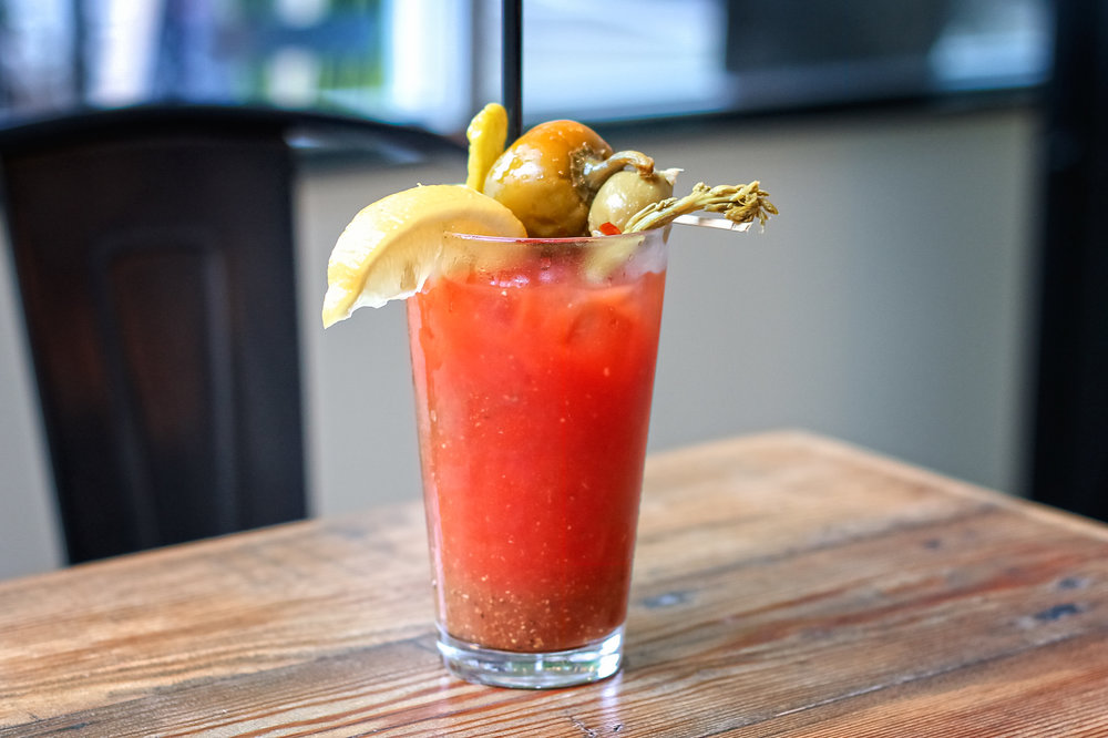 Build Your Own Bloody Marys at Twisted Pasty - Seattle — The Drunken on tee clamp, tee sign, tee bow,