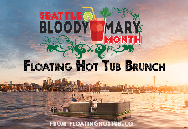 Floating Hot Tub Brunch