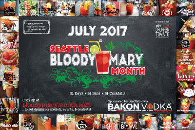 Seattle Bloody Mary Month