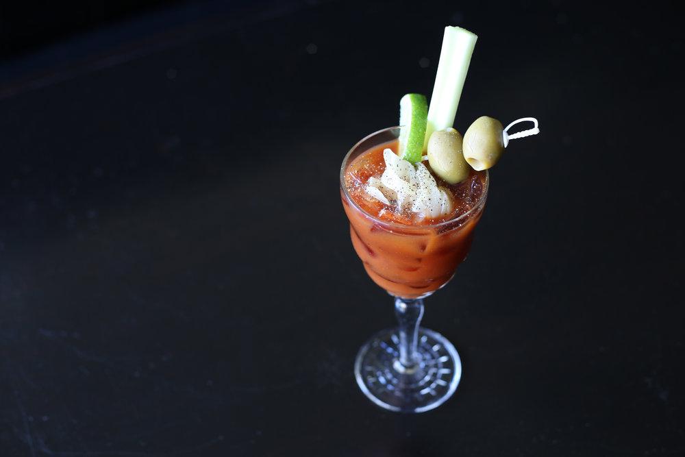 Asian Style Bloody Mary at Talde, Brooklyn, NY