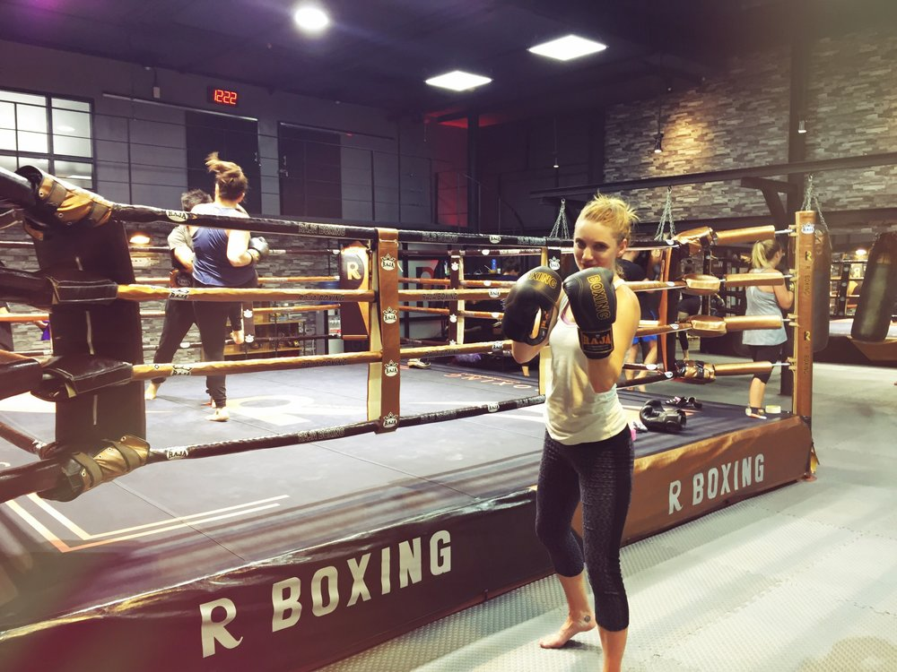 Muay Thai Lessons at R Boxing