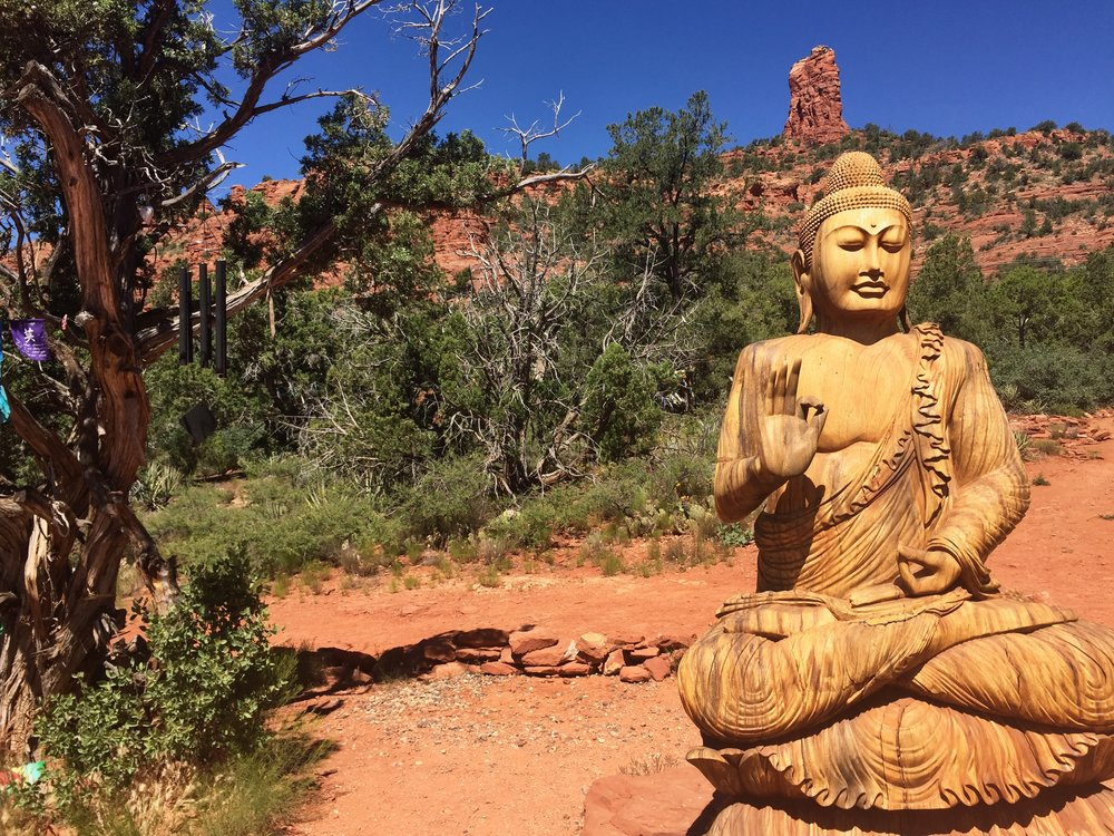 Buddhist Amitabh Stupa