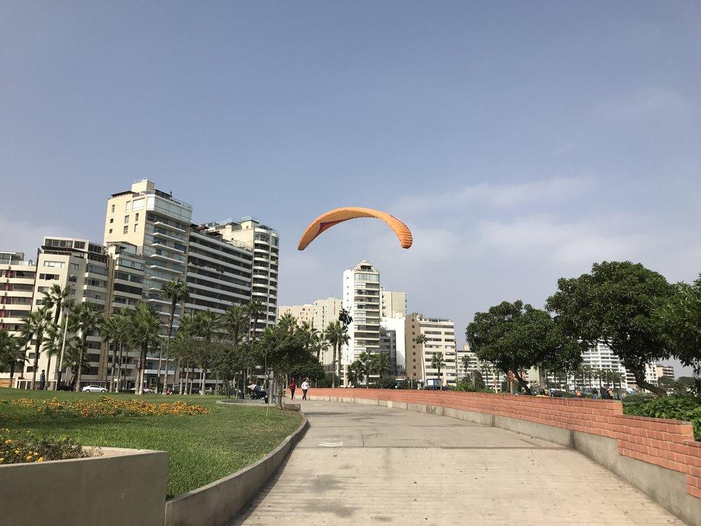 Miraflores Boardwalk Views