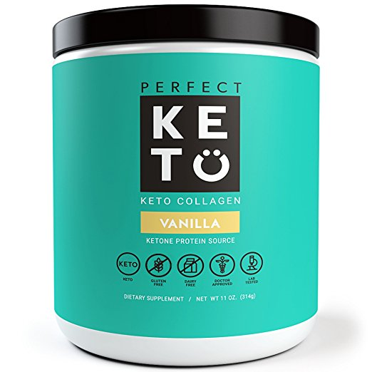 Perfect Keto Collagen in Vanilla