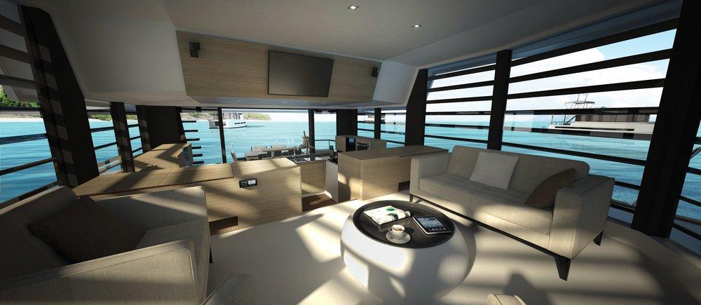 Living room -11 m²