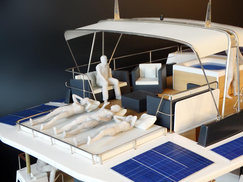 Le sun deck pour bronzer, le spa pour se relaxer