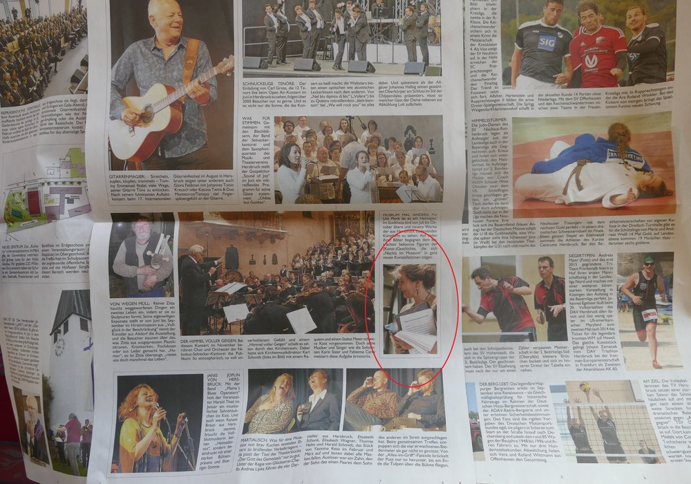 Jahresrückblick der Hersbrucker Zeitung