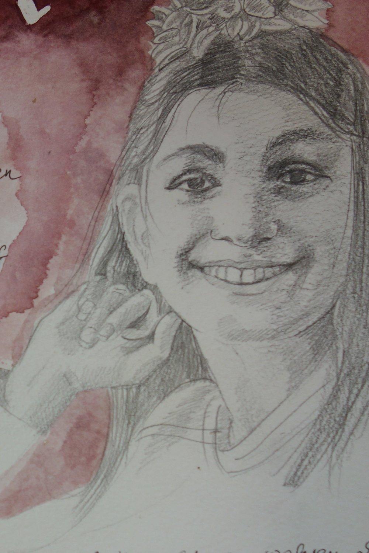 Flüchtlingskind, Besuch der Mittelschule Happurg