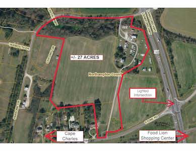+/- 27 Acres Development Land - Cape Charles, VA