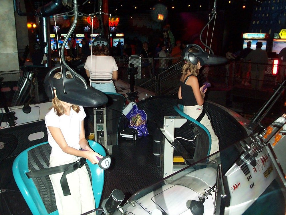 Ride the Comix attraction at Disney Quest