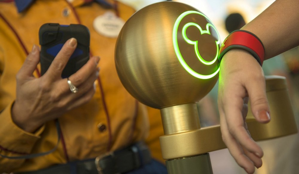 Disneys Magic Band system is the first step in personalized theme park experiences