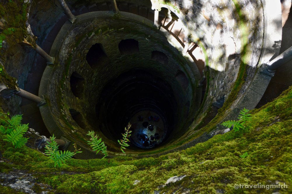 The Initiation Well - Quinta da Regaleira