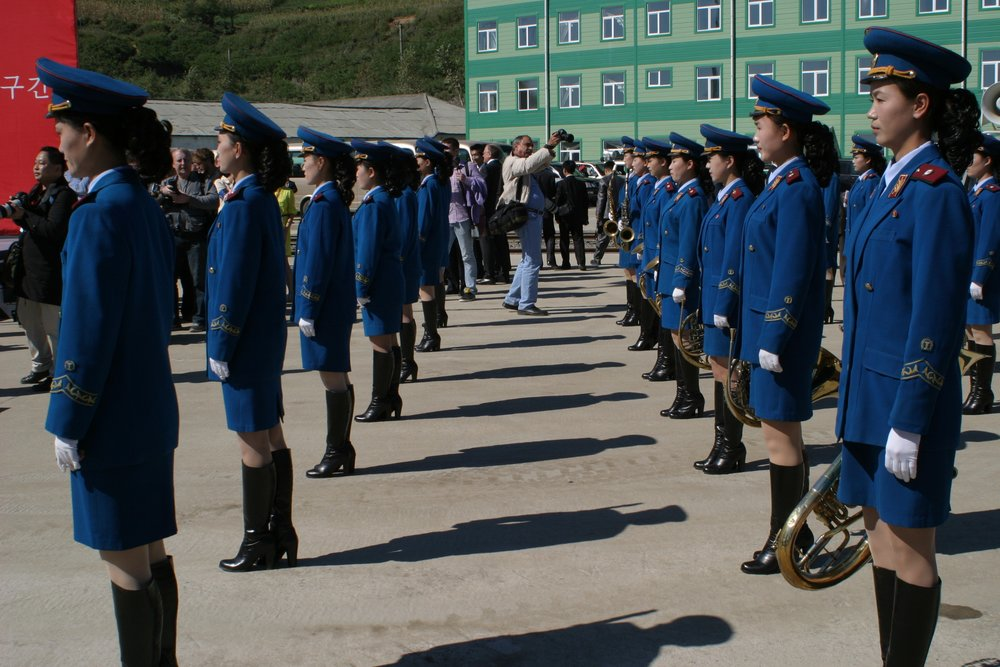 Parade in North Korea - DPRK