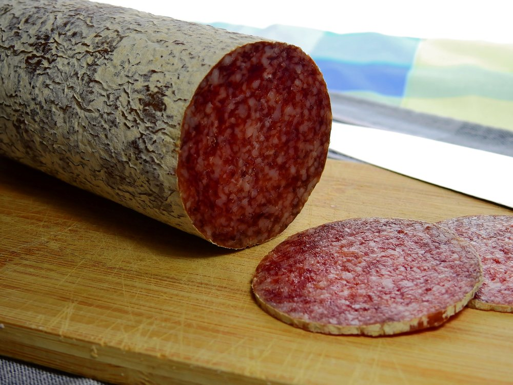 The incredible Sibiu Salami from Sibiu, Romania