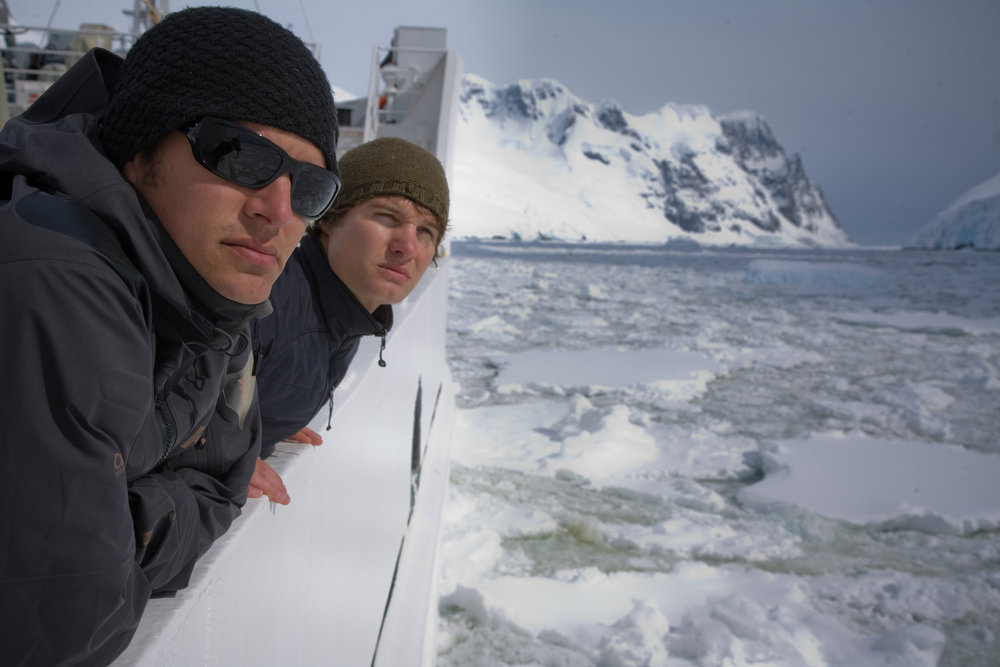 Scott Wilson and Justin Lukach - Departures - Antartica