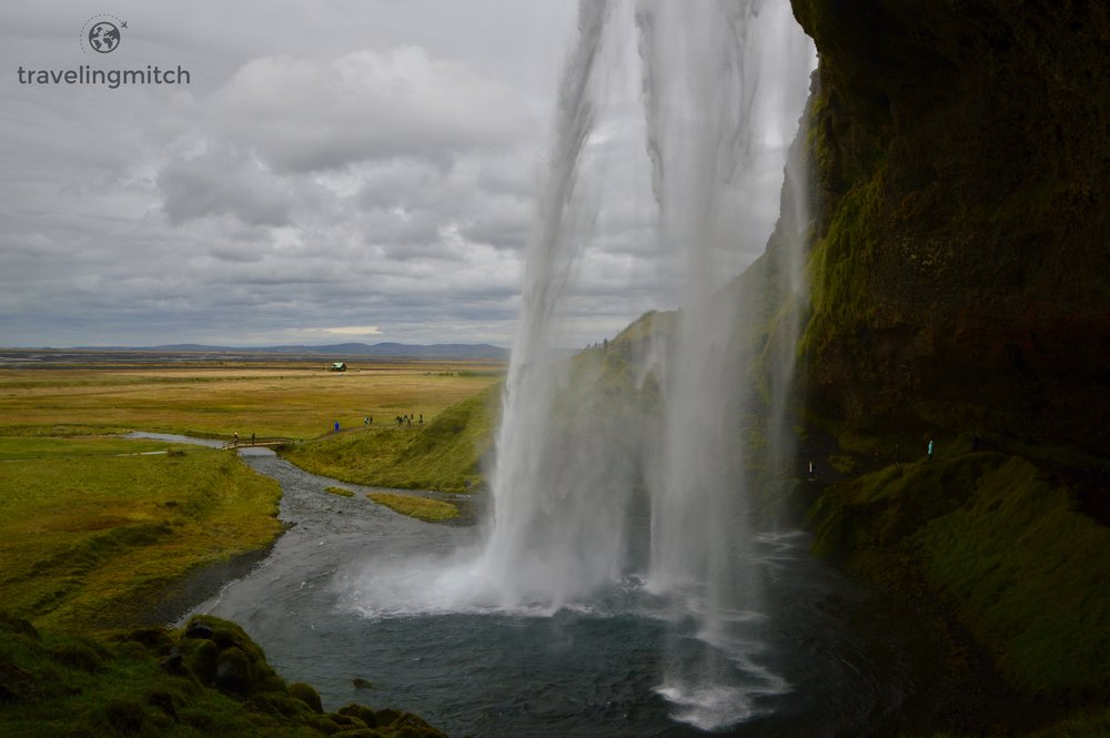"Seljalandsfoss, one of the most famous waterfalls in ""Iceland""... *cough cough* Narnia."
