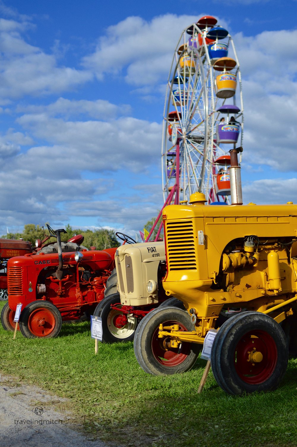 The 165 year old Orono Fair in Orono, Ontario