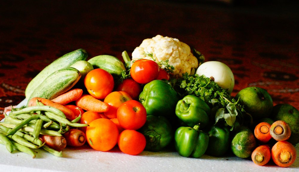 Farm to Table vegetables at their finest