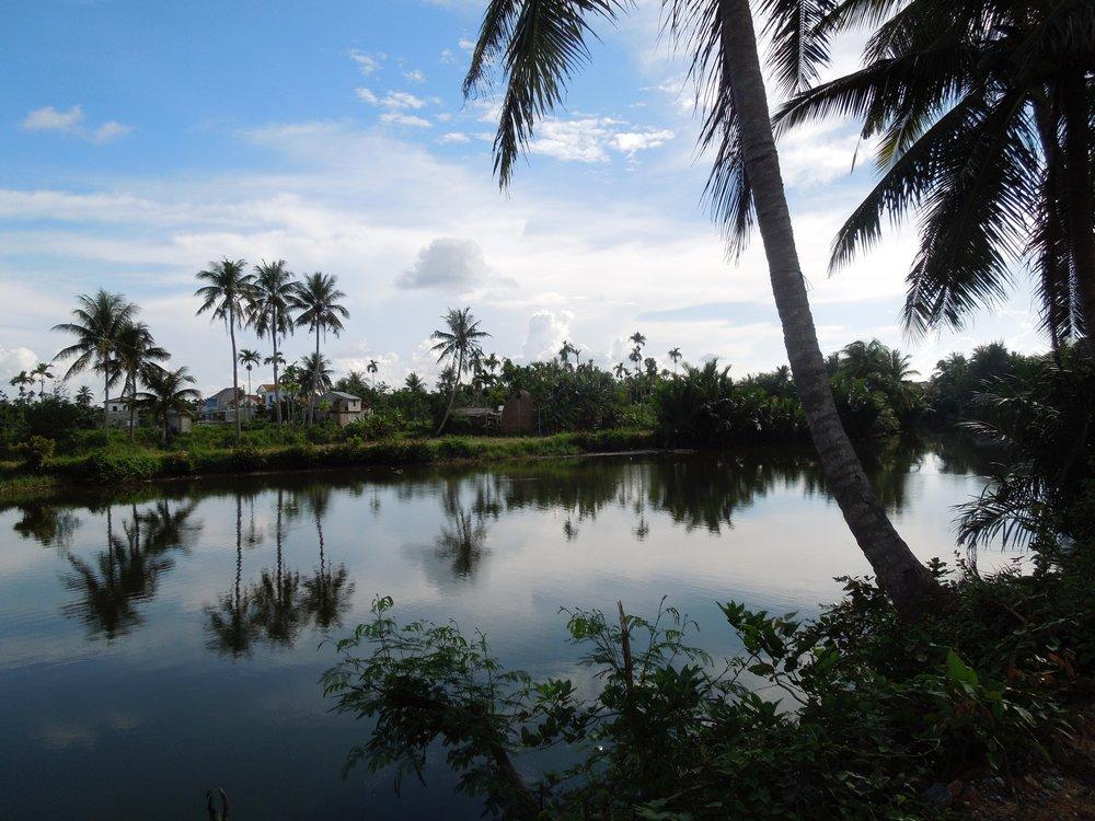 3 Weeks in Vietnam - Thu Bon River near Hoi An