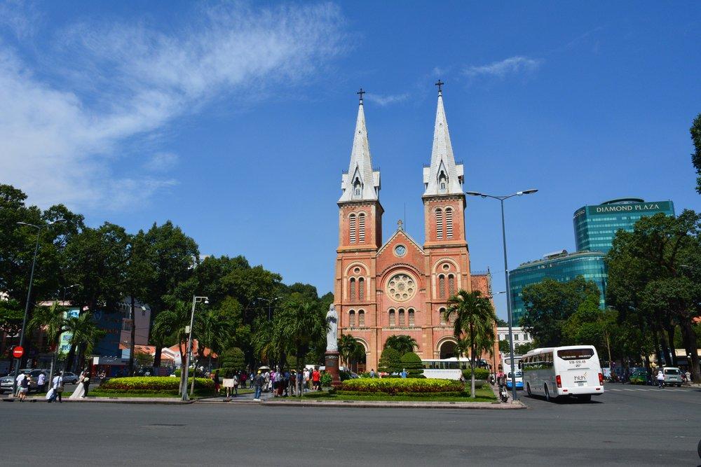 3 Weeks in Vietnam - The Saigon Notre Dame Basilica