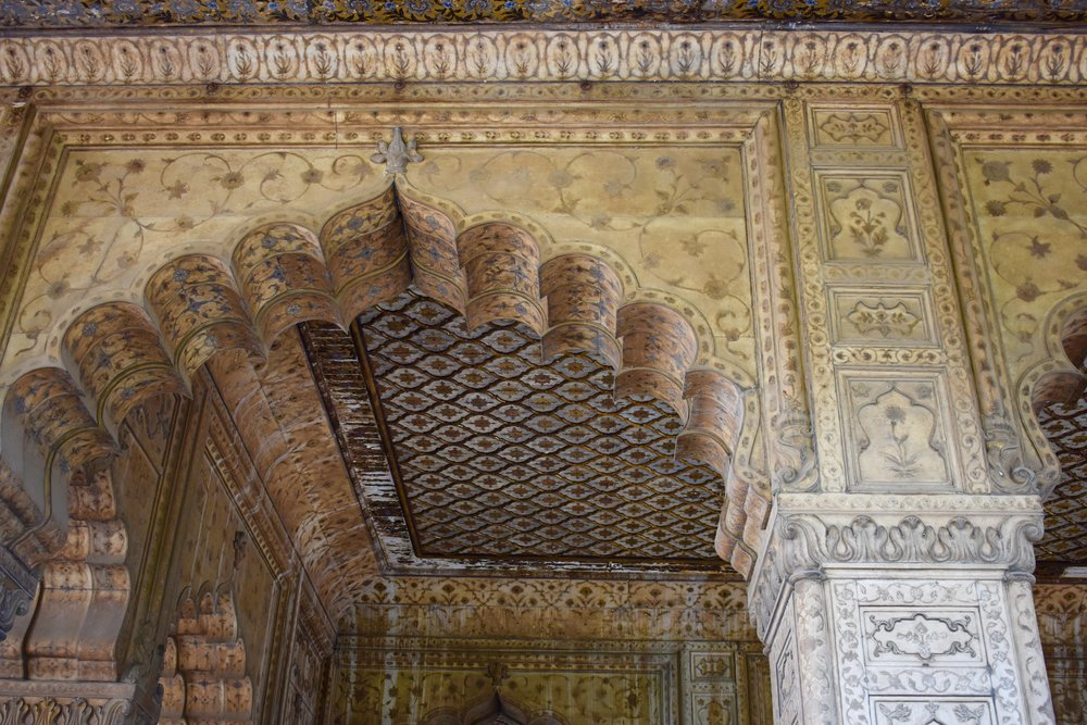 A Delhi Essay - Carvings at the Red Fort