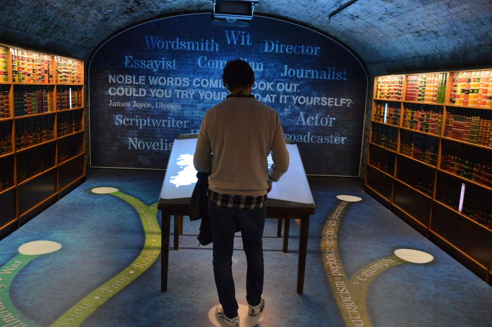 At Dublin's EPIC Museum, you'll learn about the history of Irish authors and their impact.