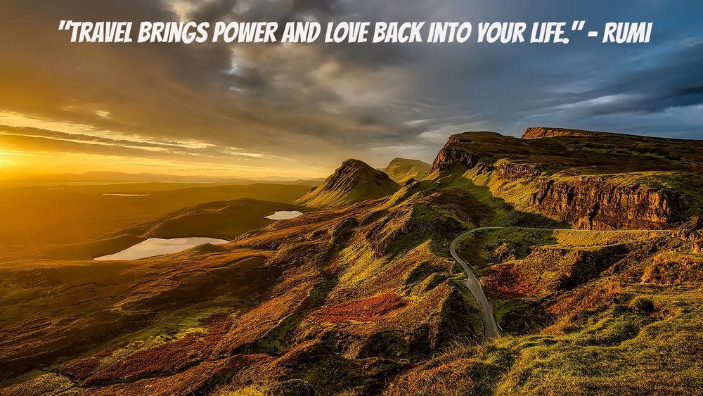 Ancient Travel Quotes, Scotland, ancient words of wisdom, ancient sayings, ancient prophecy