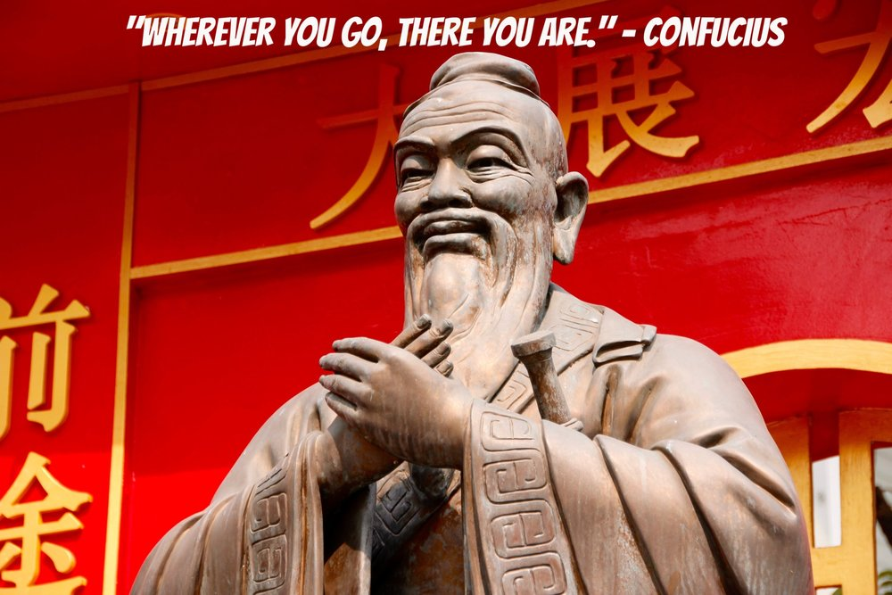 Ancient Travel Quotes - Ancient China, Confucius, Philosophy, Ancient Philosophy, Travel