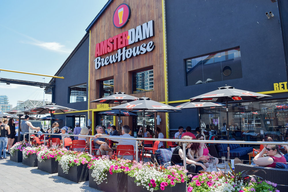 36 hours in Toronto - Amsterdam Brewhouse