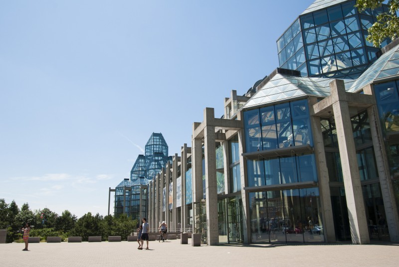 The National Gallery of Canada is one of Ottawa's most iconic buildings. ©Ottawa Tourism