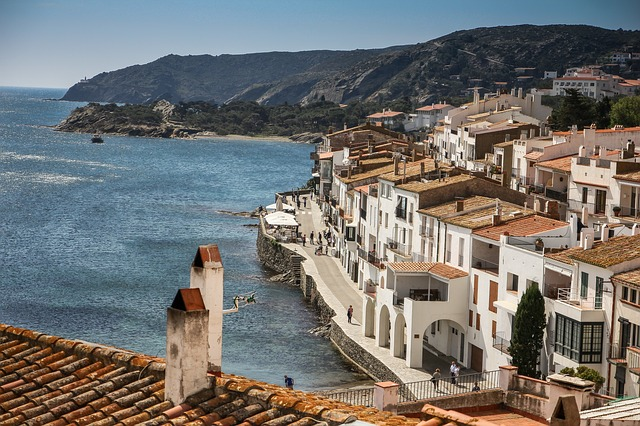 Cadaqués, Spain on the Costa Brava is not a bad place to rest those weary legs.