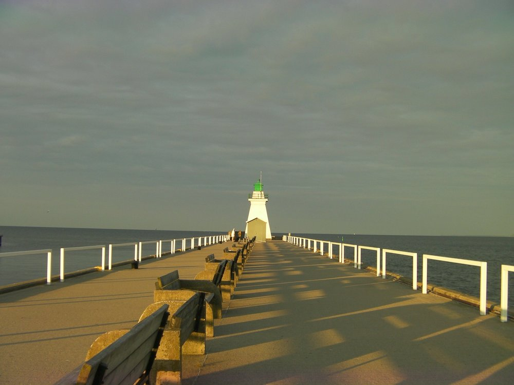 The Port Dover Lighthouse in Port Dover, Ontario
