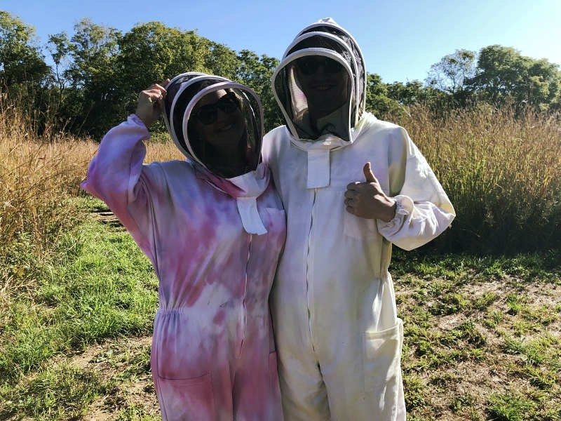 Think about doing an apiary tour at Long Point Eco Adventures