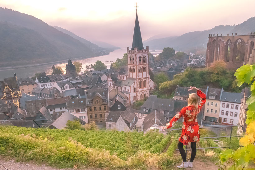 Bacharach is one of the best places in Germany, and should be in your Germany itinerary.