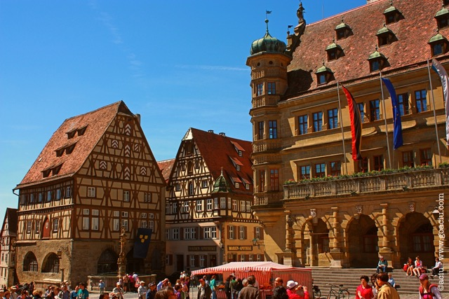Rothenburg ob der Tauber is one of the most beautiful cities in Germany and should be a part of many Germany itineraries.