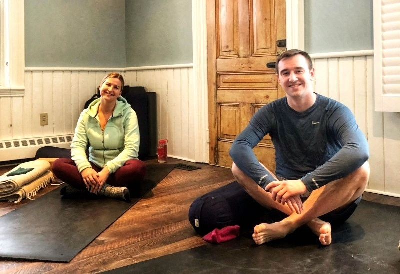 The Forks of the Credit Inn, and Kaba Kamp, provided the best yoga retreat in Ontario
