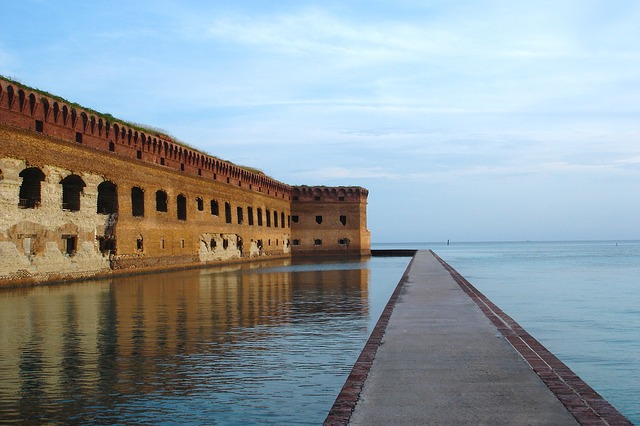 Fort Jefferson, on the Dry Tortugas, constitutes a unique and intriguing history for Florida, which makes it an interest addition to thinking about Florida tourist attractions