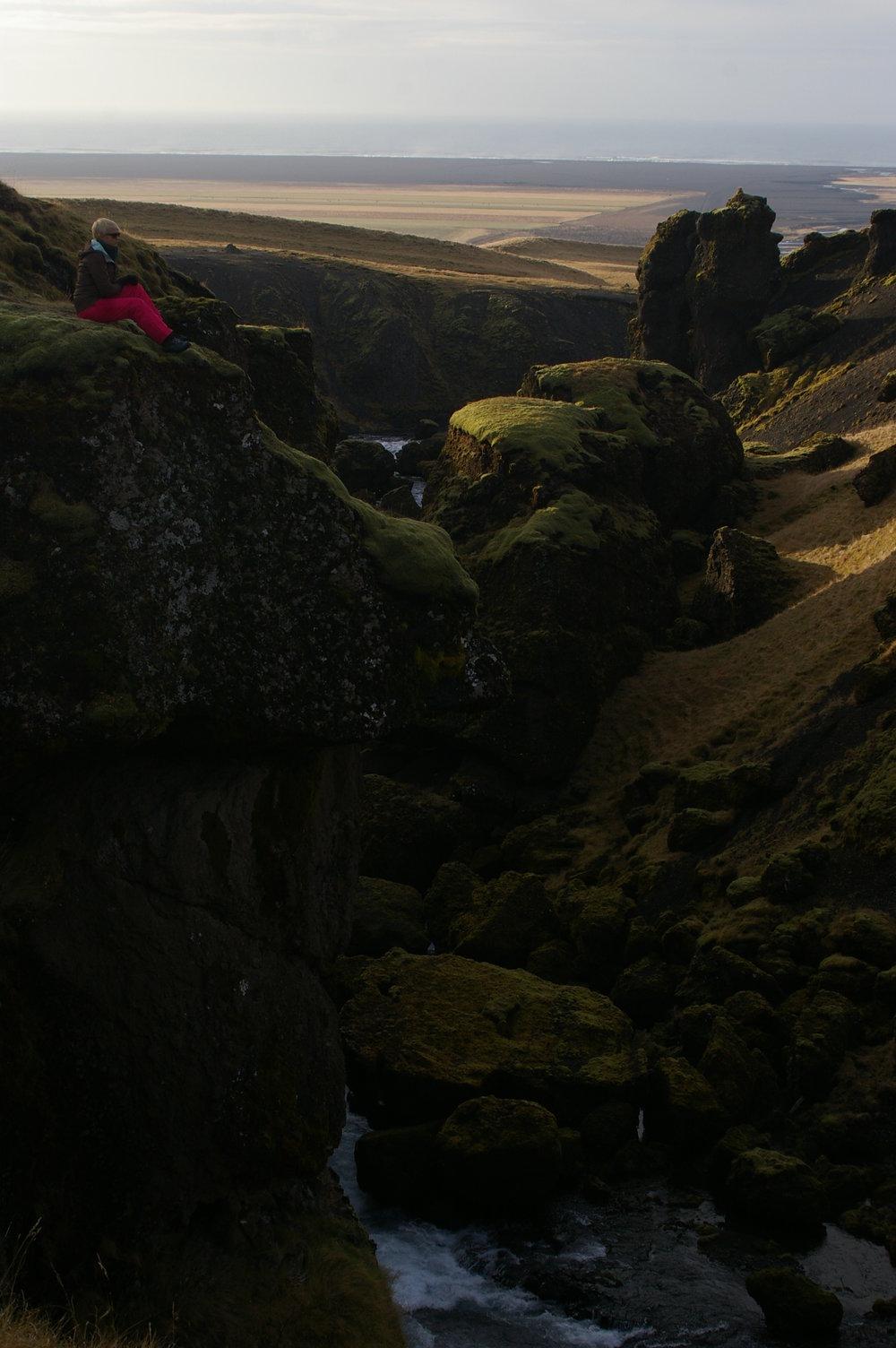 Túrabakancsban Izlandon