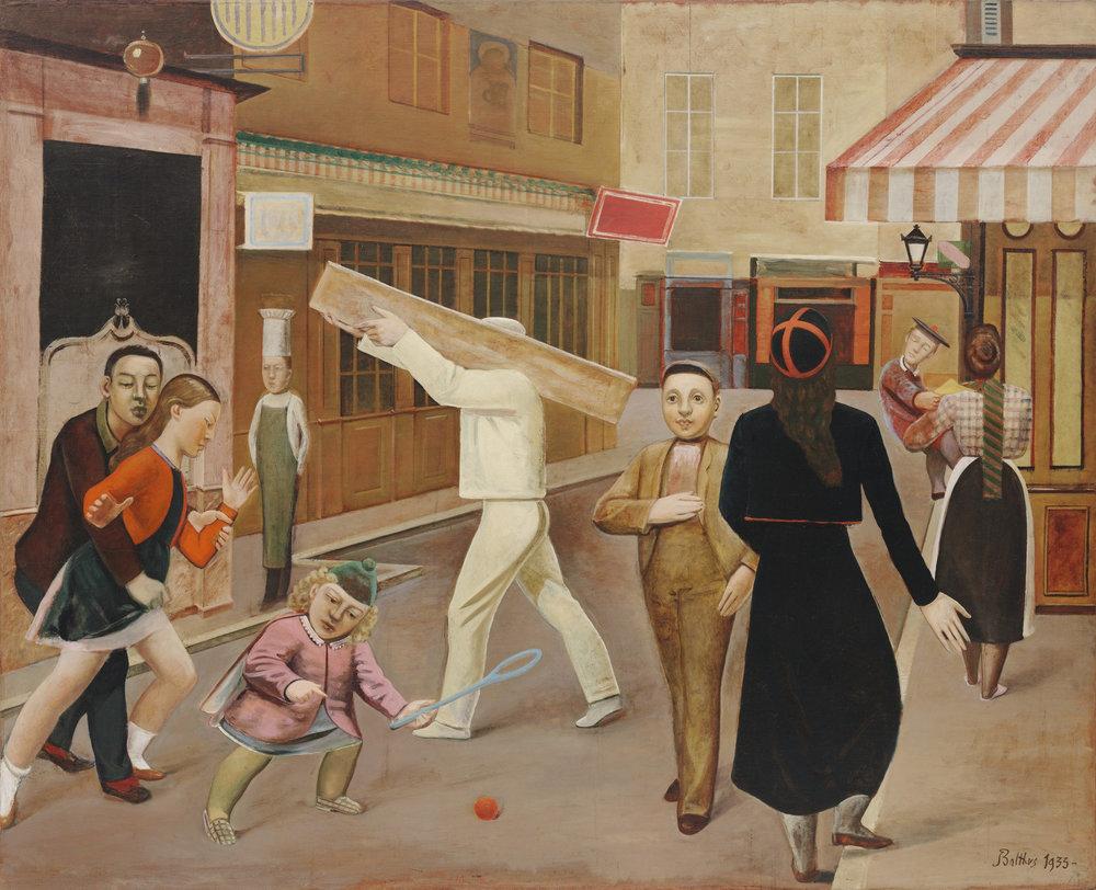 Balthus, <i>The Street</i>, 1933