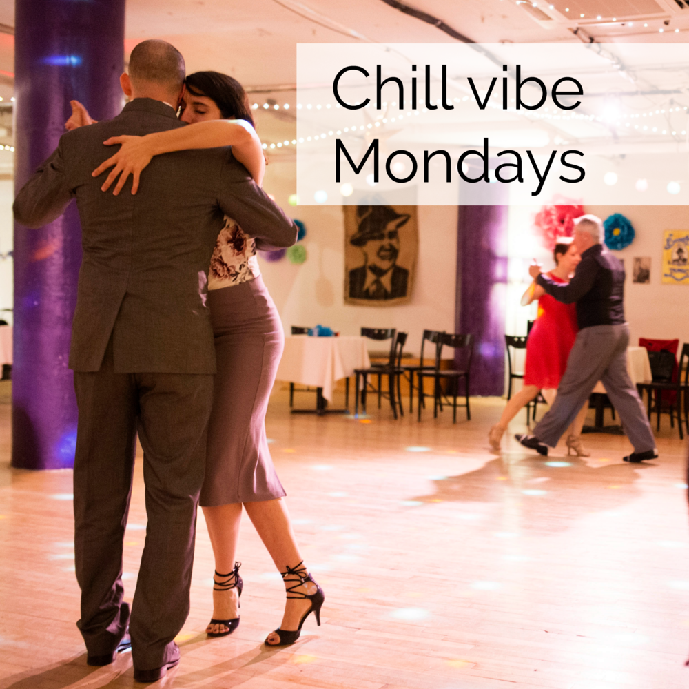 EVERY MONDAY NIGHT 8:30 PM - MIDNIGHT - Admission is $8 taxes included(except for special events)The ambiance is relaxed and intimate. There's lots of floor space!Average attendance: 35 dancers