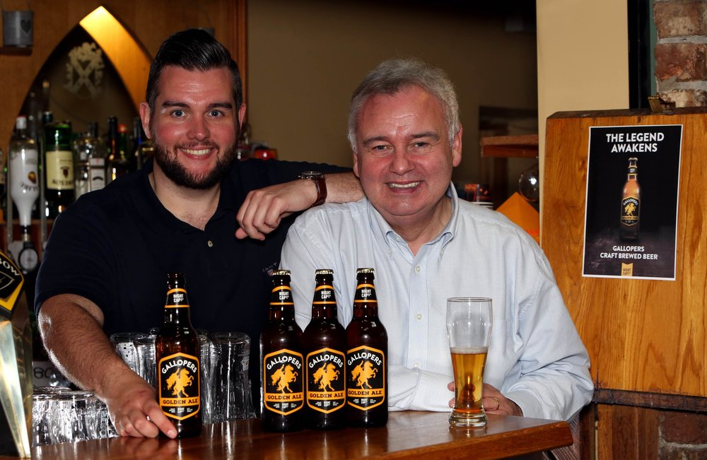 Nightcap Brewing MD Declan Holmes and his biggest supporter Eamonn Holmes.jpg