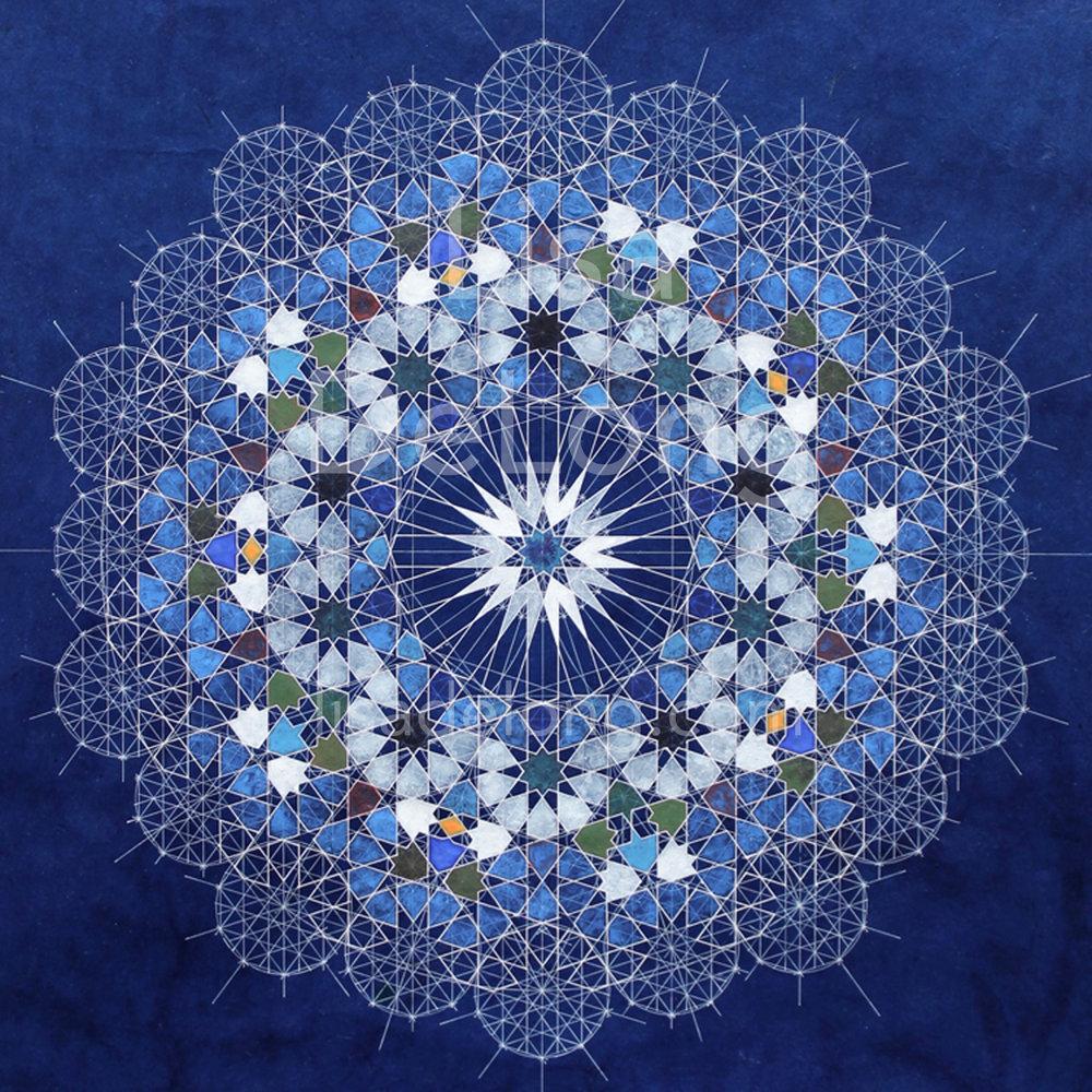 Meditation in Blue (SOLD)