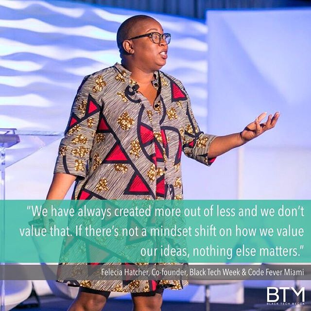 Know your worth! We are far more valuable than the world wants us to believe. - #BlackTechMecca #SBTE18