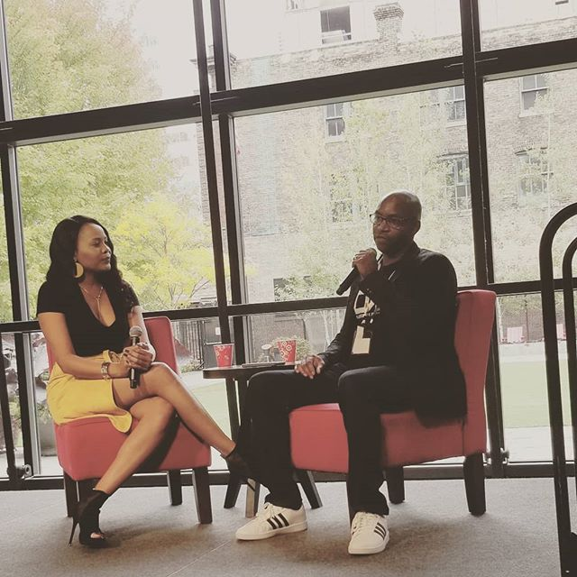 Bitcon kick off and fireside chat with @blacksintechnology Founder, Craig Greenly #bitcon2018 #wepowertech