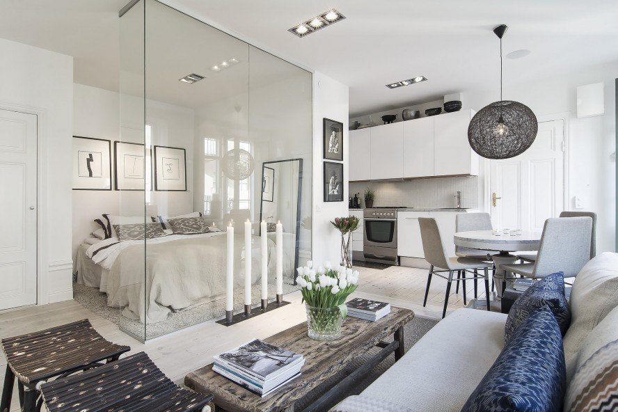 modern white nuance of the modern luxury homes