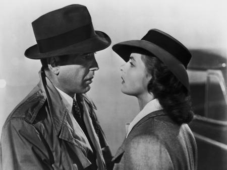 Humphrey Bogart and Ingrid Bergman star in 'Casablanca'
