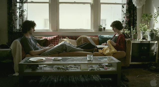 A screenshot from the film